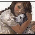 1. Tenni & Kayla, the blind dog